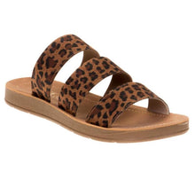 Load image into Gallery viewer, Corky's Dafne Leopard Strappy Sandal