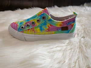 Girls Blowfish Tie Dye Shoes