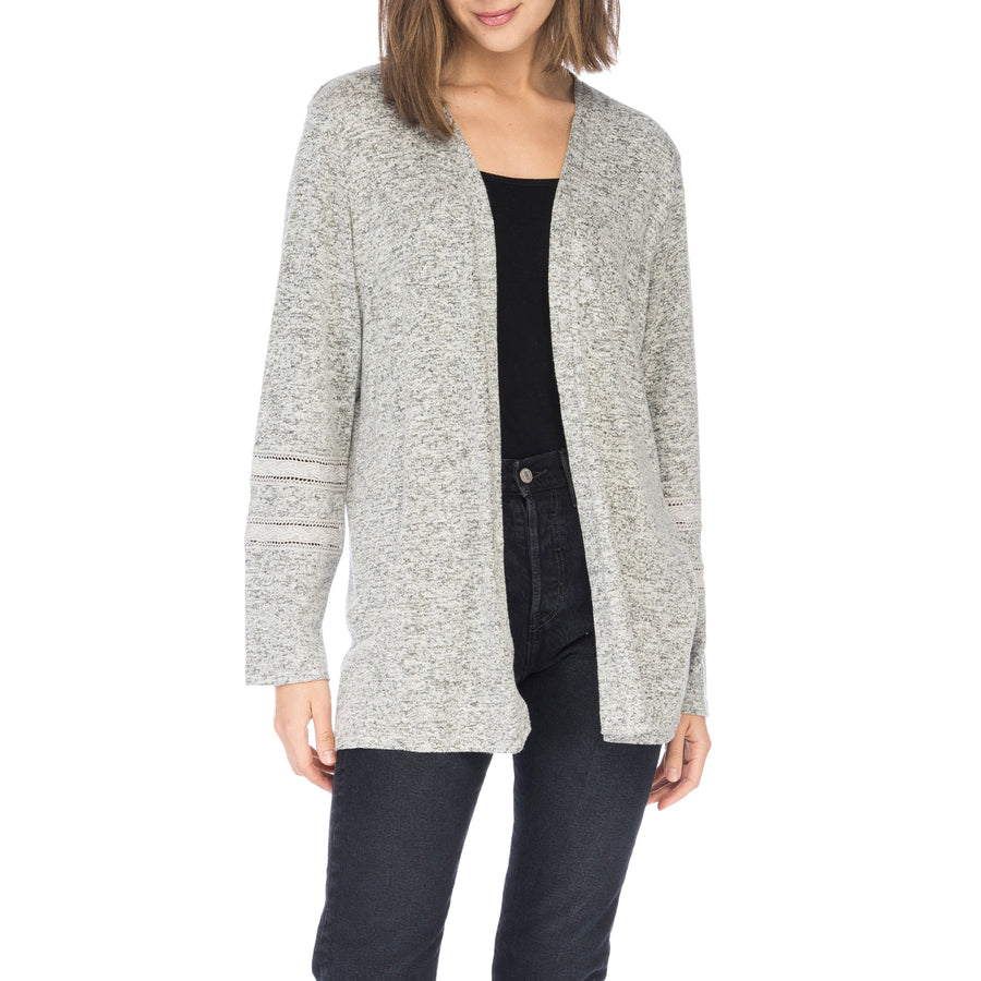 Susy Lace Inset Cardigan