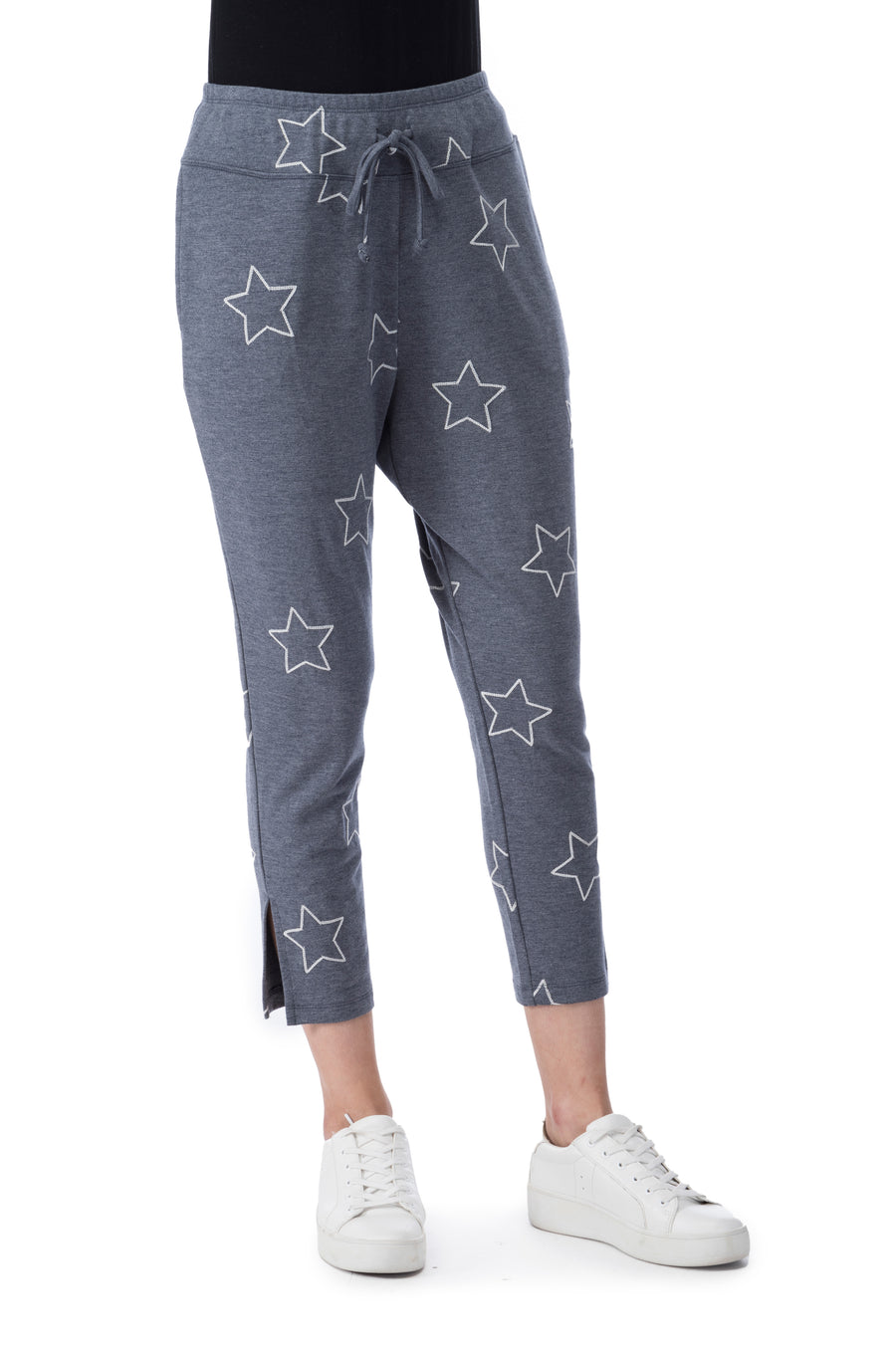 Pascale Star French Terry Crop Pant