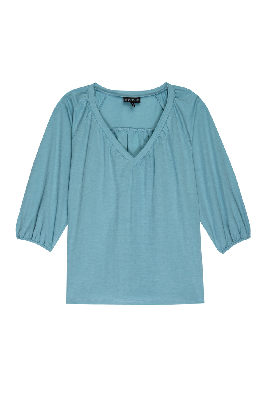 Rosamonde Shirred Knit Blouse