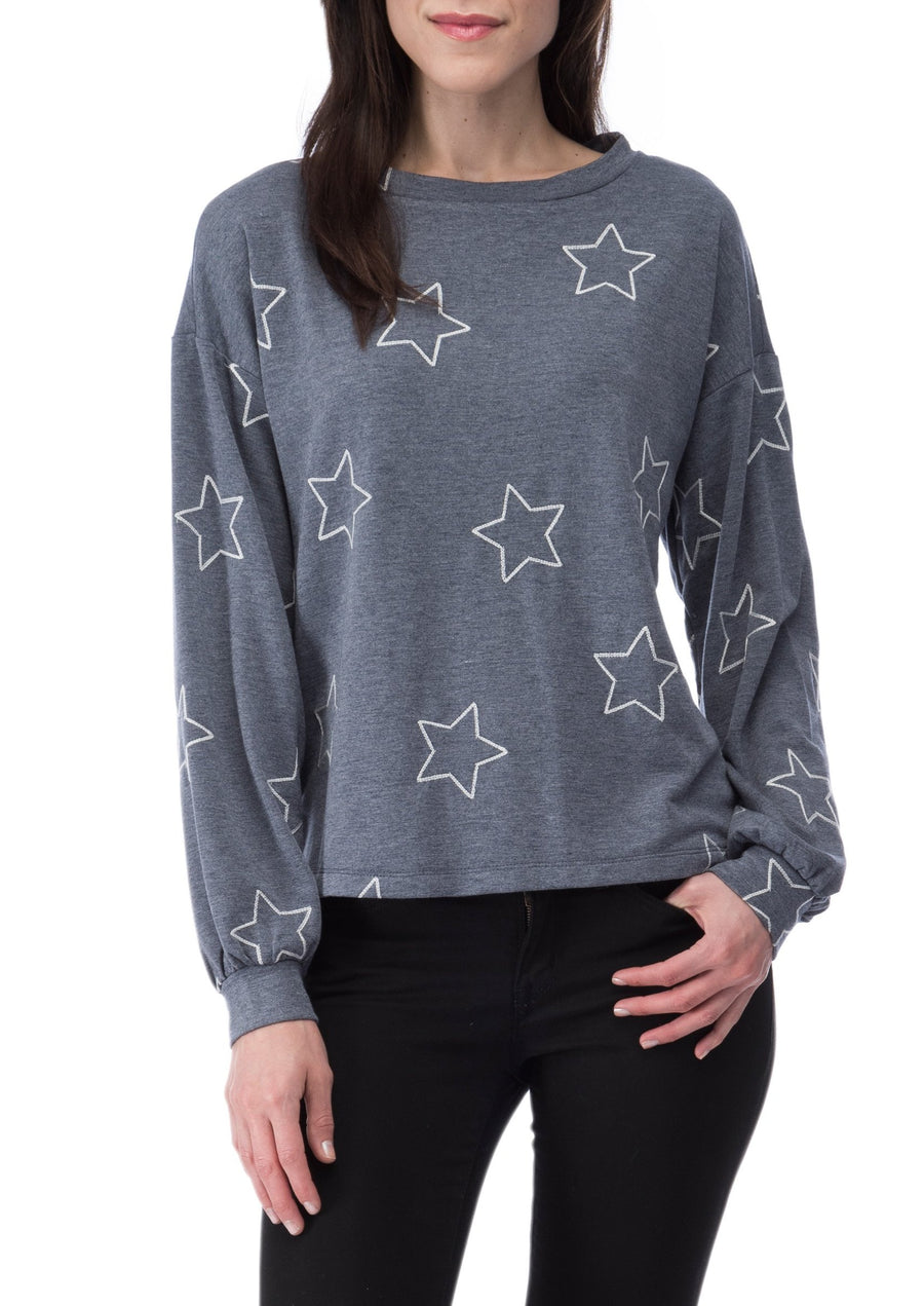 Emmanuel Star French Terry Top