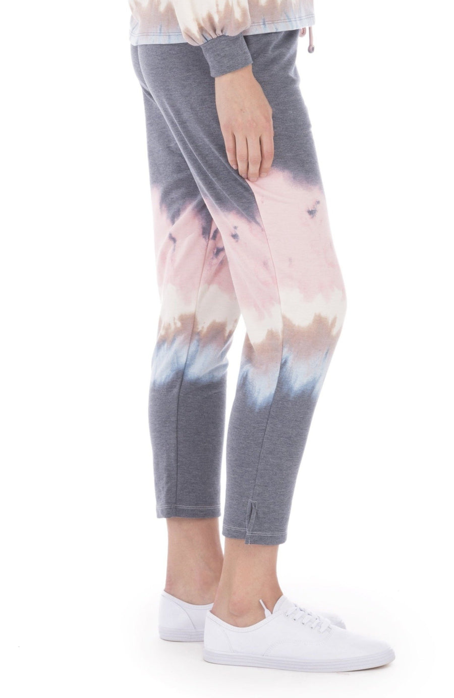 Pascale Tie Dye French Terry Crop Pant