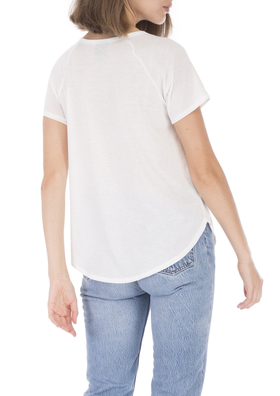 NYC Notch Neck Tee