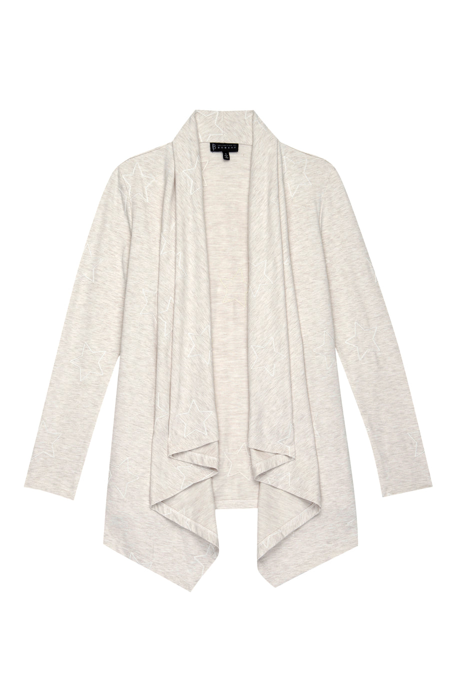 Amie Embroidered Star French Terry Cardi
