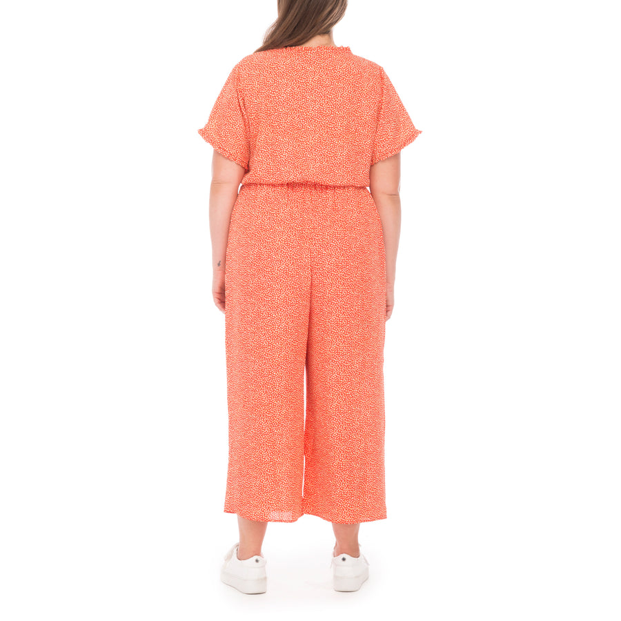 Sidd Plus Ruffle Jumpsuit