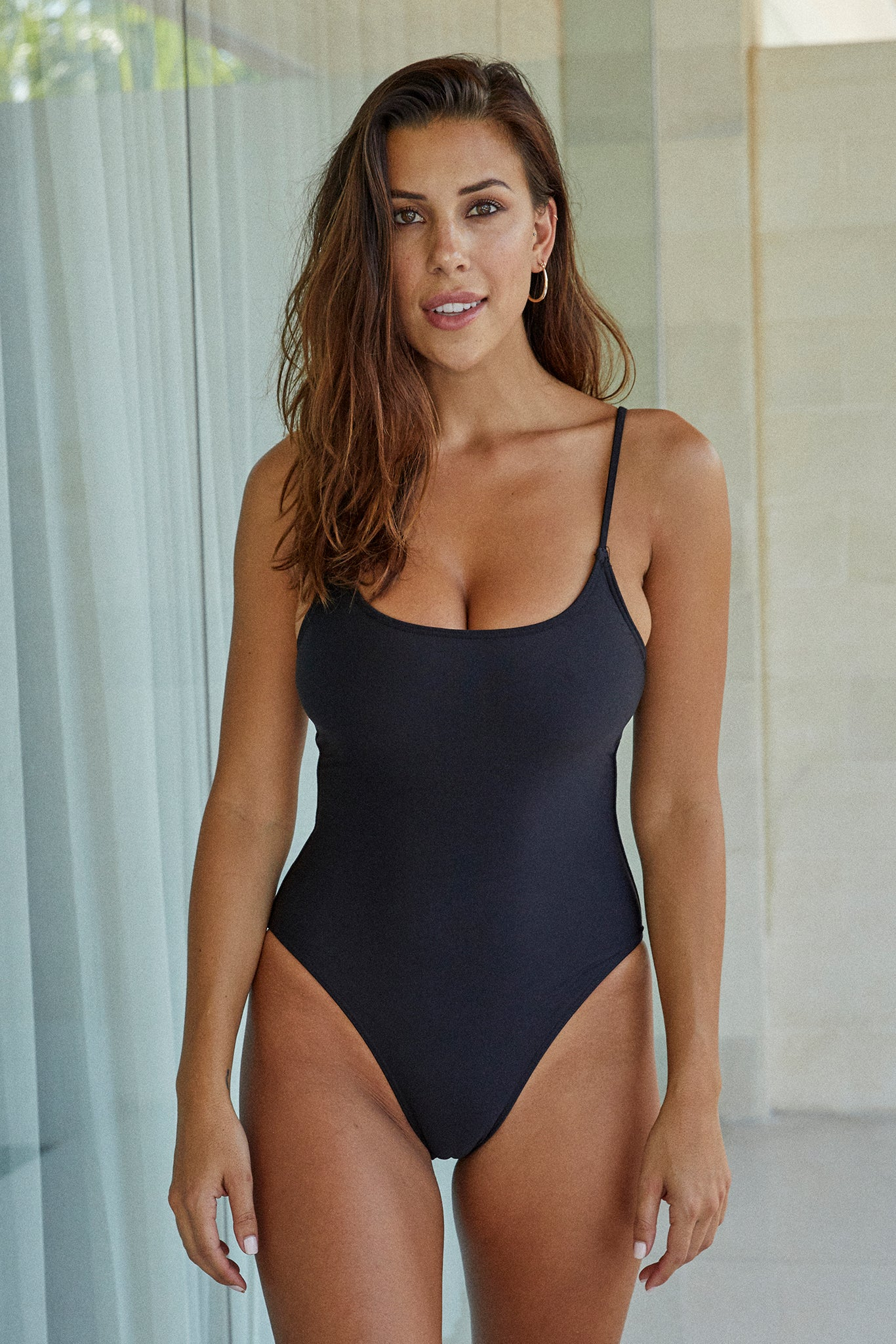 Bahamas One Piece - Black