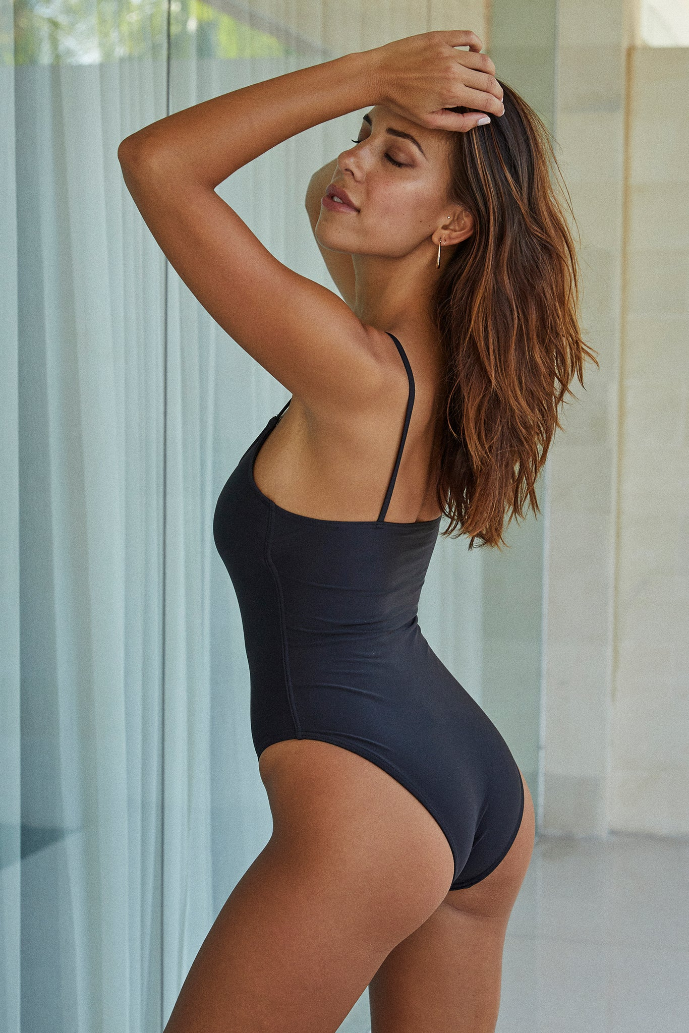 Load image into Gallery viewer, Bahamas One Piece - Black