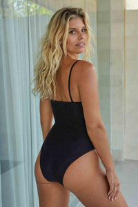 Bahamas One Piece Long Body - Black