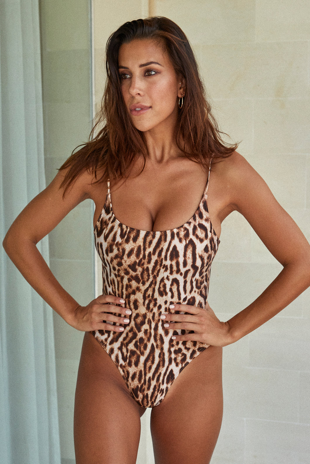Bahamas One Piece - Leopard