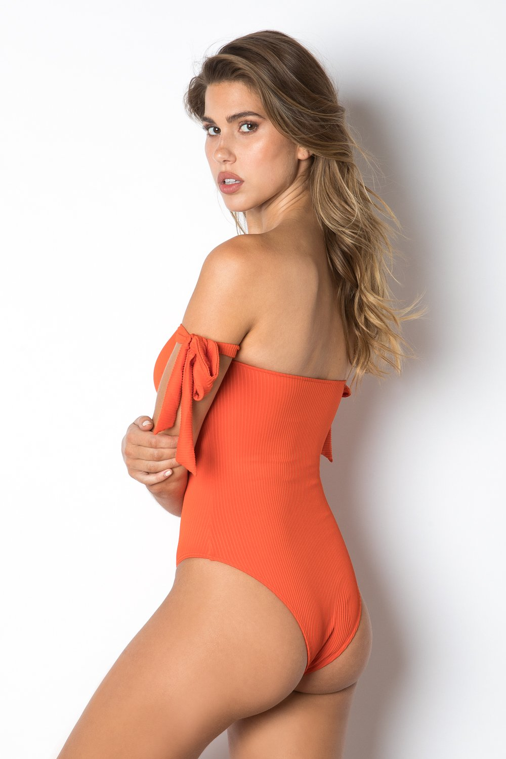 Load image into Gallery viewer, Santorini One Piece - Red Rib