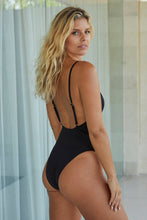Load image into Gallery viewer, Malibu One Piece - Black