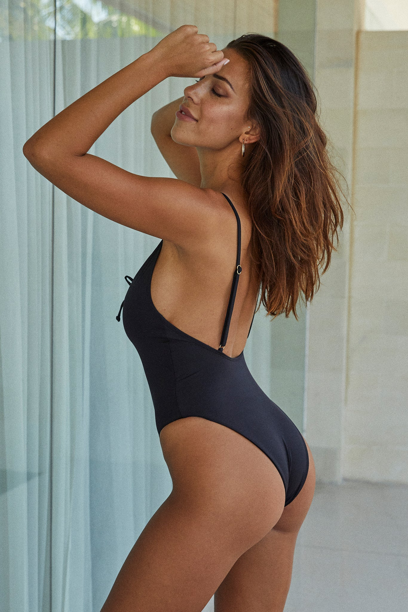 Malibu One Piece - Black