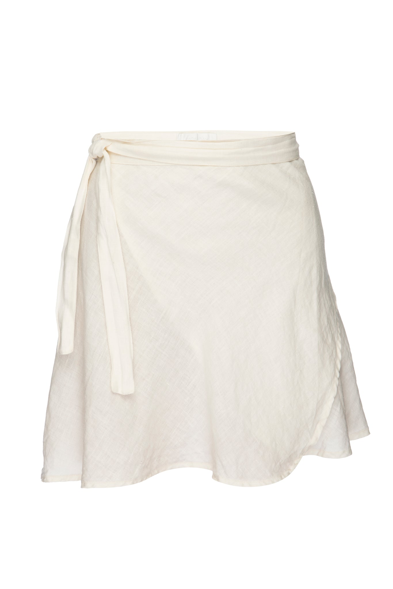 Load image into Gallery viewer, Monaco Linen Skirt - Ivory