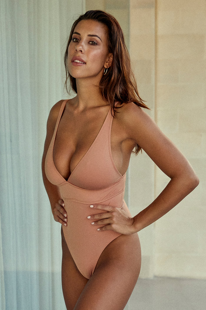 Portofino One Piece - Nude