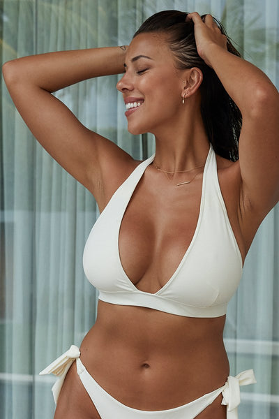 Somerset Top - Ivory