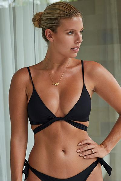 St Barths Top - Black