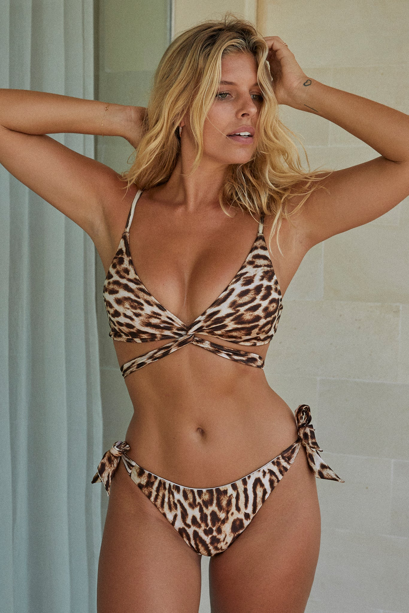 Load image into Gallery viewer, St Barths Bottom - Leopard