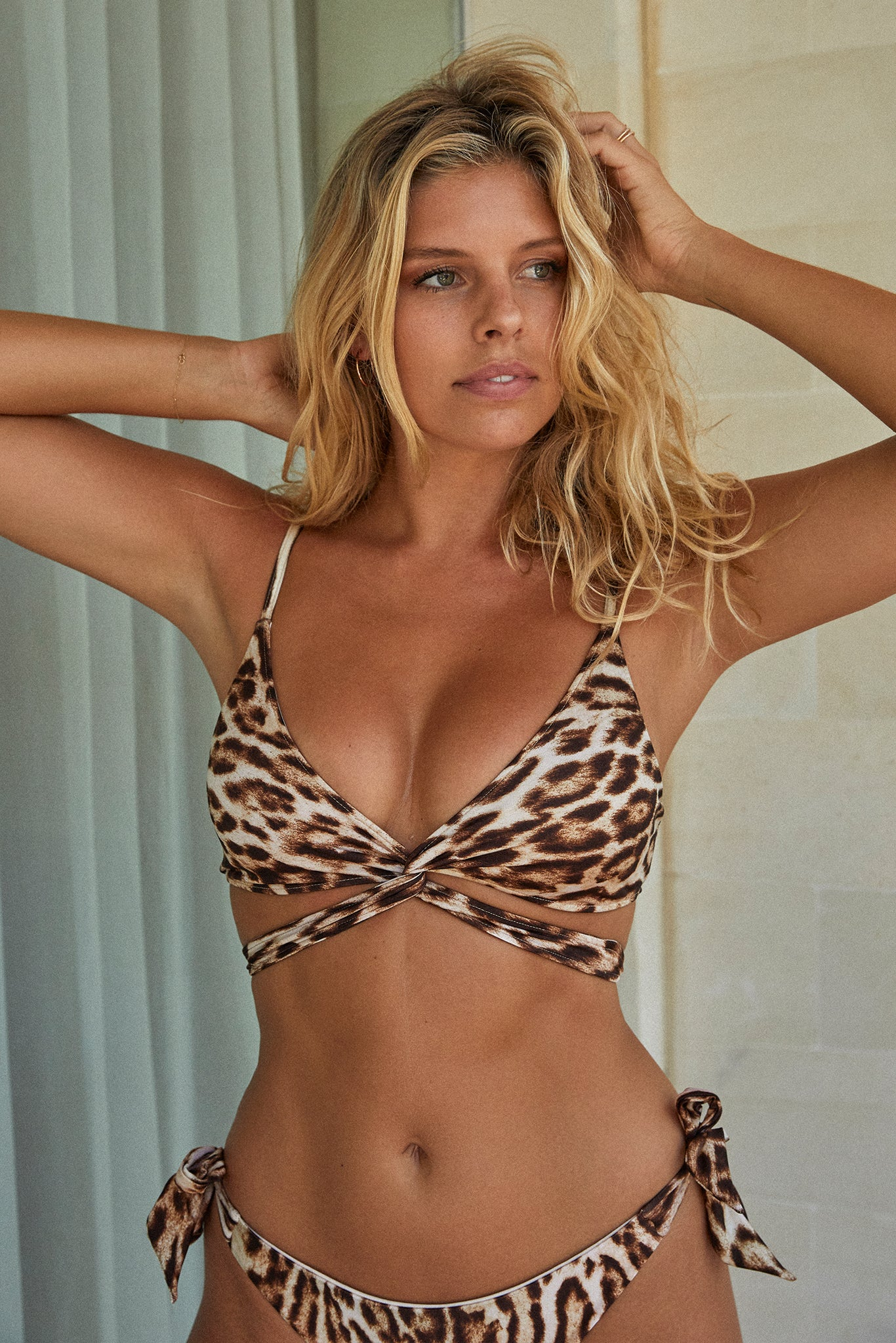 Load image into Gallery viewer, St Barths Top - Leopard