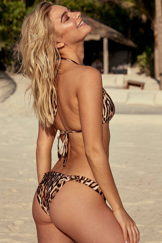 Tulum Bottom - Leopard