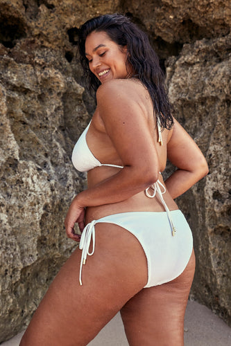 Voluptuous Le Marais Bottom - White Rib