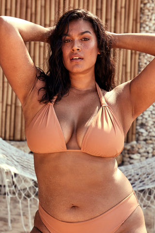 Voluptuous Tulum Top - Nude