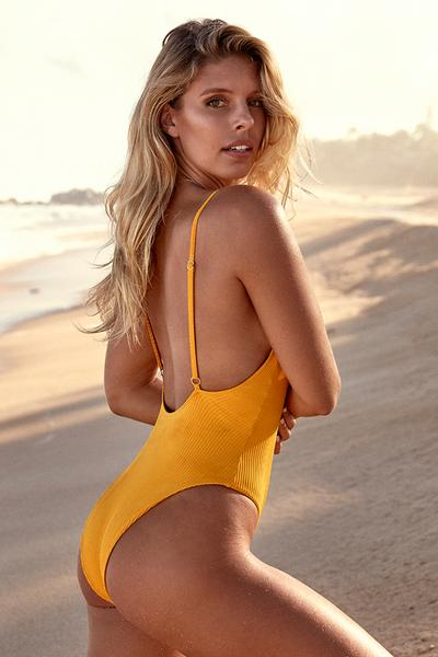 Load image into Gallery viewer, Malibu One Piece - Mango Rib