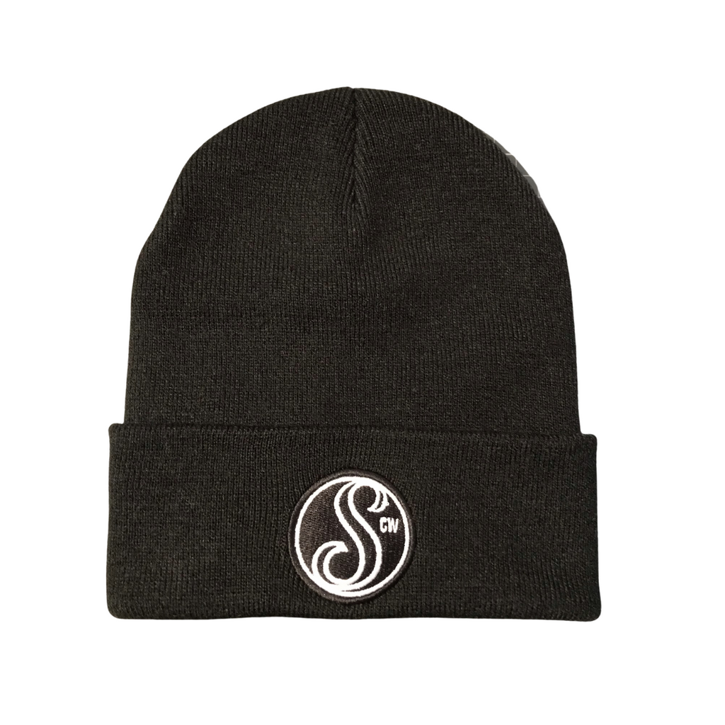 Stoked Patch Cuffed Beanie