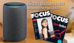 FOCUS - Zwei-Jahres-Abo (Inland) plus Amazon Echo Plus GRATIS