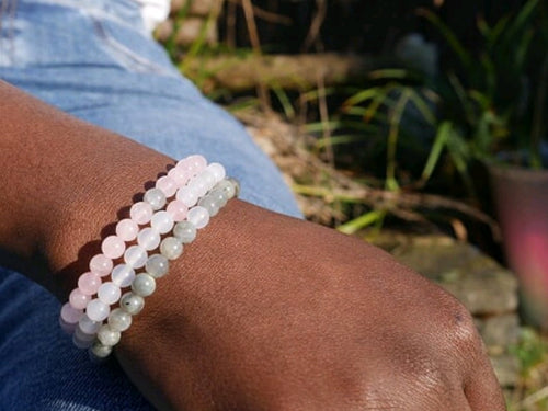 Protect, Love & Harmony Stacking Bracelets