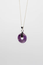 Load image into Gallery viewer, Amethyst Orbit (Available in Silver or Gold)