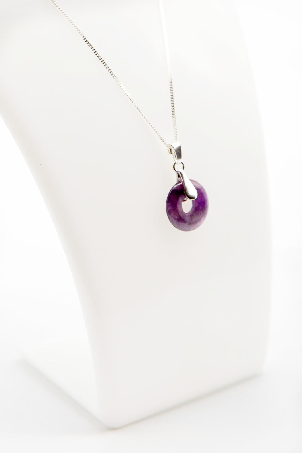 Amethyst Orbit (Available in Silver or Gold)
