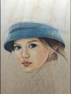 COLORED PENCILS on WOOD - Regular Painting Class (1-2 Days)
