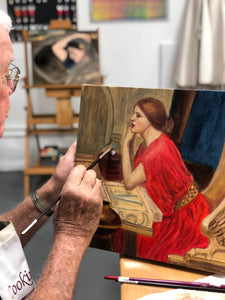 OILS ON CANVAS - Regular Painting Class (1-2 Days)