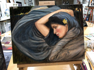 OILS ON CANVAS - Regular Painting Class (3 Days)