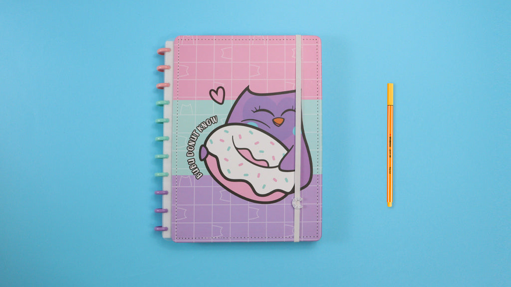Caderno By Bubu Let's Donut