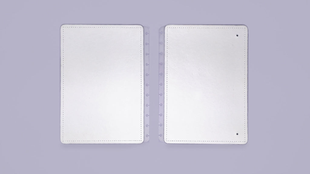 Capa e Contracapa All White