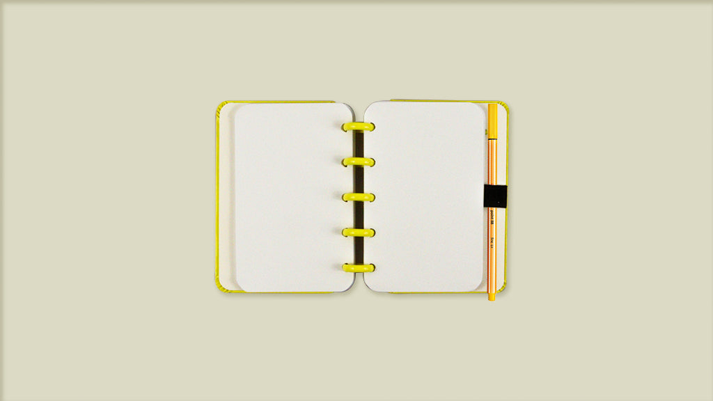 Caderno All Yellow