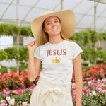 Women's King Jesus Tee | Christian Clothing And Apparel - Kingdom Christian Clothing Store