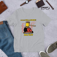 The Devil Has Already Been Judged (Light) | Christian Men's T-Shirt - Kingdom Christian Clothing Store