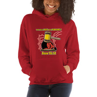 The Devil Has Already Been Judged (Dark) | Christian Women's Hoodie - Kingdom Christian Clothing Store