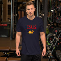 Men's King Jesus Tee | Christian Clothing And Apparel - Kingdom Christian Clothing Store