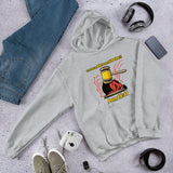 The Devil Has Already Been Judged (White) | Christian Men's Hoodie - Kingdom Christian Clothing Store