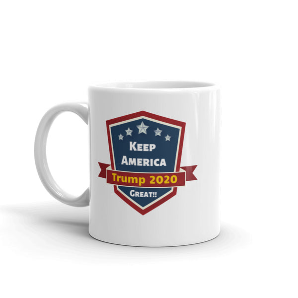 Trump 2020 Collector Edition Coffee Mug | Patriotic Coffee Cup - Kingdom Christian Clothing Store