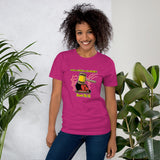 The Devil Has Already Been Judged (Dark) | Christian Women's T-Shirt - Kingdom Christian Clothing Store