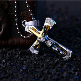 Christian Jewelry | High Quality Cross Necklace | Jesus Piece Pendant - Kingdom Christian Clothing Store