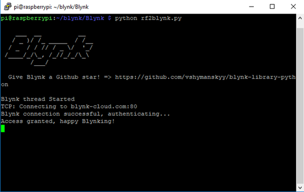 Interfacing with Blynk with Python – JemRF