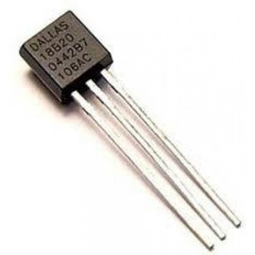 DS18B20 Dallas 1 wire digital temperature sensor and resistor