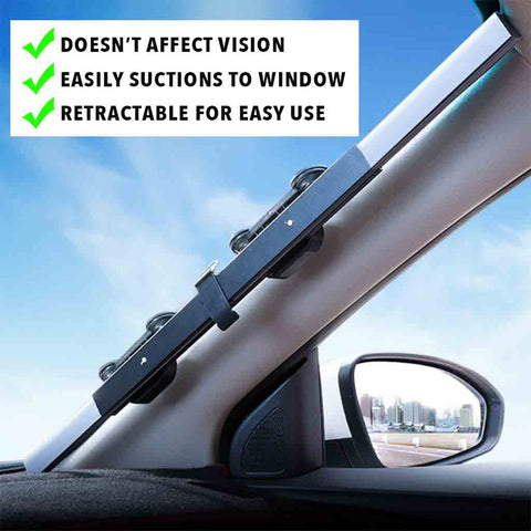 Windshield Sun Shade (Retractable)