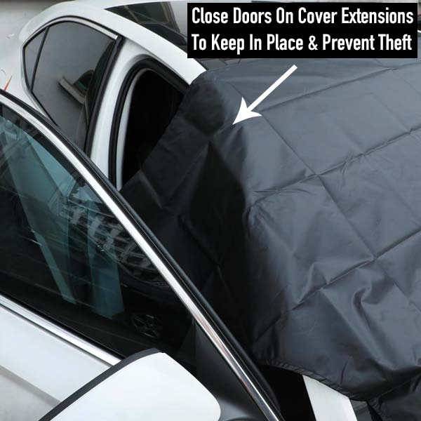 Windshield Snow Cover - Car Windshield Protector